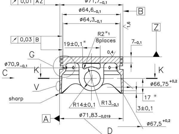 Geometric dimensioning and tolerancing training